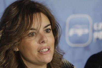 """Soraya Sáenz de Santamaría: """"Es irresponsable dejar España sin rumbo hasta noviembre"""""""