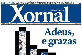 'Xornal de Galicia' echa el cierre y deja los quioscos sin periódicos en lengua gallega