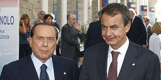 ¿Qué ha hecho Berlusconi frente a la crisis y qué no ha hecho Zapatero?