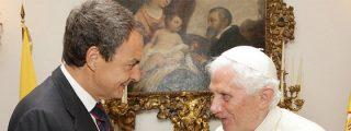 Zapatero delega en Bono la despedida del Papa