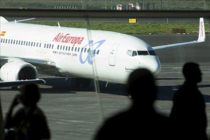 El sindicato SEPLA convoca una huelga en Air Europa desde el día 22, todos los lunes y jueves