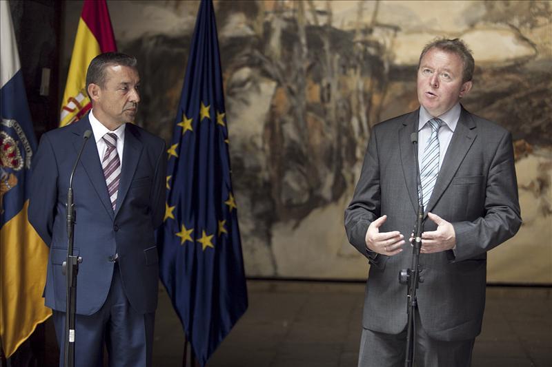 Rivero pide reforzar als ayudas a Canarias porque está en riesgo la competitividad
