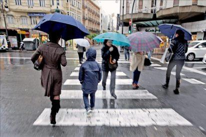 Alerta amarilla por lluvias y tormentas en el este peninsular y Melilla