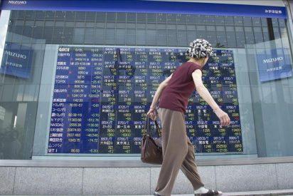 El Nikkei cae 118,52 puntos, el 1,32 por ciento, hasta 8.832,22 puntos