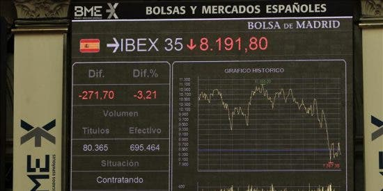 La bolsa española sufre su tercera mayor caída del año por miedo a recesión