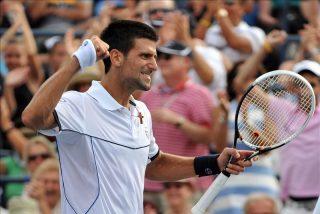 Djokovic tuvo que pelear para meterse en los cuartos de final