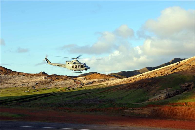 Prosigue la búsqueda de las víctimas del accidente que enluta a Chile