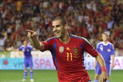 España golea a Liechtenstein y se clasifica para la Eurocopa
