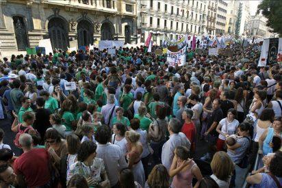 Los sindicatos anuncian movilizaciones nacionales contra recortes educativos