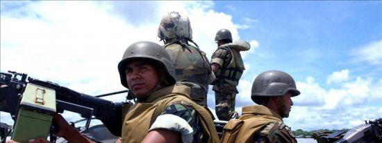 Las FARC secuestran a quince campesinos y pescadores colombianos