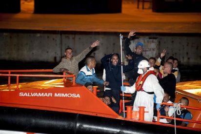 Cuarenta y ocho inmigrantes llegan a Cartagena en dos pateras
