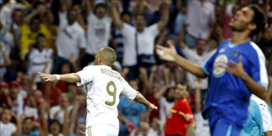 4-2. Benzema hace más líder al Real Madrid