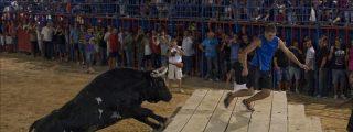 El toro Ratón es vitoreado en Sueca durante un festejo sin incidentes