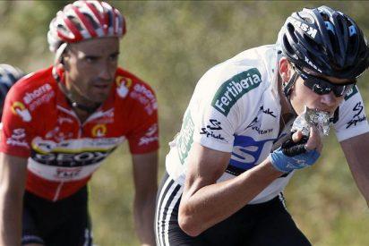 Juan José Cobo, vencedor final del la Vuelta