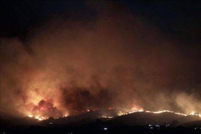 Un incendio en Mijas obliga al desalojo preventivo de un centro de drogodependencia