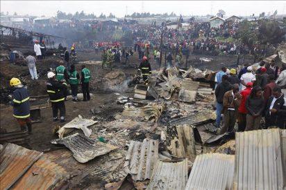 Al menos 76 muertos en la explosión de un oleoducto en una favela de Nairobi
