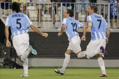 4-0. Cazorla y Joaquín impulsan al Málaga de Pellegrini