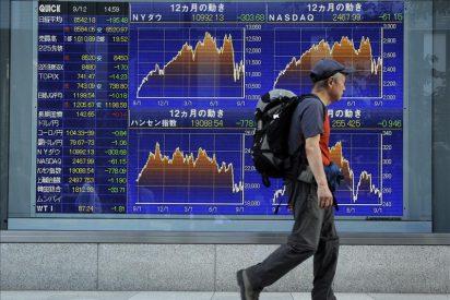 El índice Nikkei subió 53,07 puntos, el 0,62 por ciento, hasta los 8.588,74 puntos