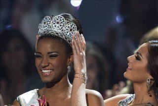 Miss Universo promete trabajar por África y dice no temer al racismo