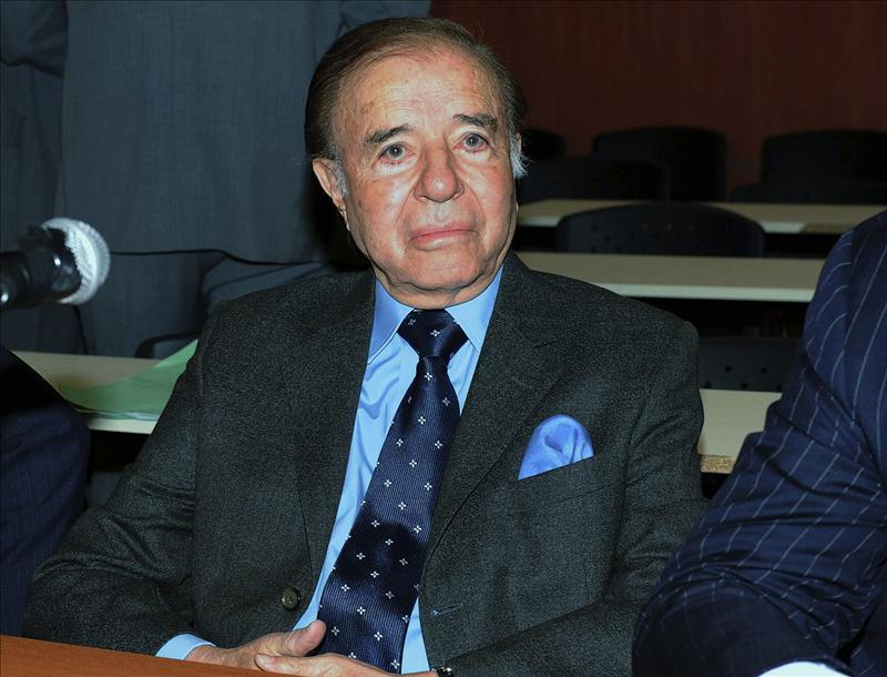 El expresidente Menem, absuelto por contrabando de armas a Croacia y Ecuador
