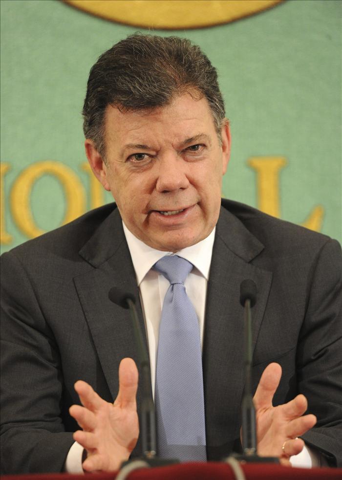 Santos concluye su visita a Japón y parte a Seúl en el segundo tramo de su gira