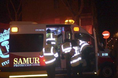 Dos heridos leves y tres viviendas de Villaverde afectadas por explosión gas