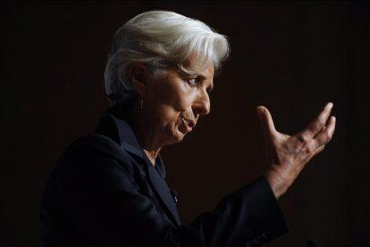 """El panorama económico """"turbulento y gris"""" exige voluntad """"colectiva"""", según Lagarde"""