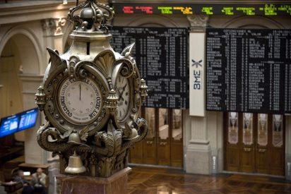 El IBEX sube el 0,99 por ciento animado por la inyección de liquidez del BCE