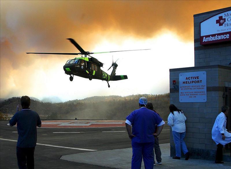 Tres muertos y 60 heridos al estrellarse un avión en un espectáculo aéreo en EEUU