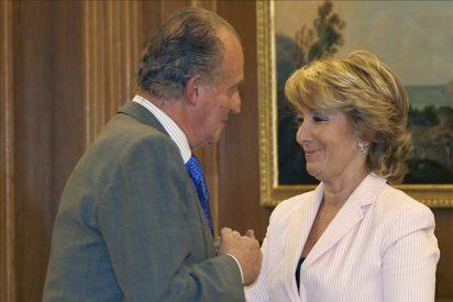 El Rey comienza hoy con Aguirre una ronda con los presidentes autonómicos