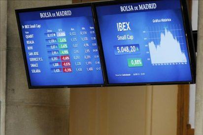 La bolsa española abre la semana con fuertes pérdidas y el IBEX cae el 2,68 por ciento