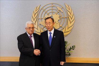 Abás confirma a Ban que presentará la solicitud de adhesión de Palestina a la ONU