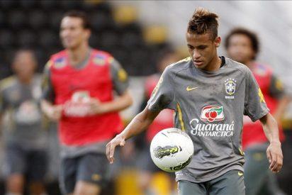 Neymar niega su fichaje por el Real Madrid y afirma que seguirá en Brasil hasta los JJ.OO