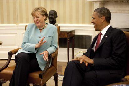 Obama y Merkel, de acuerdo en la necesidad de una acción concertada