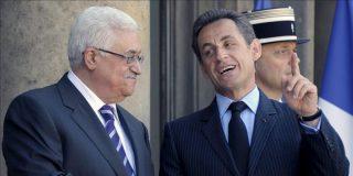Sarkozy se entrevista este martes con Mahmud Abás