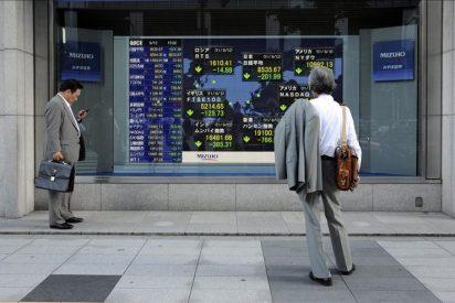 El índice Nikkei bajó 100,55 puntos, un 1,13 por ciento, hasta los 8.763,61 puntos