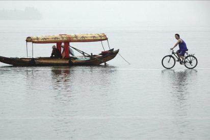 Las inundaciones en China dejan 57 muertos y más de un millón de desplazados