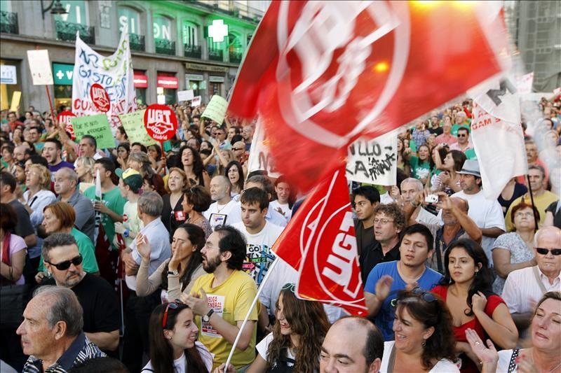 Segunda jornada de huelga de profesores en la Comunidad de Madrid