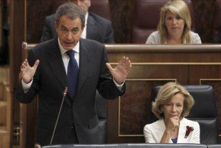 Zapatero dice que no se va satisfecho y Rajoy denuncia su herencia envenenada