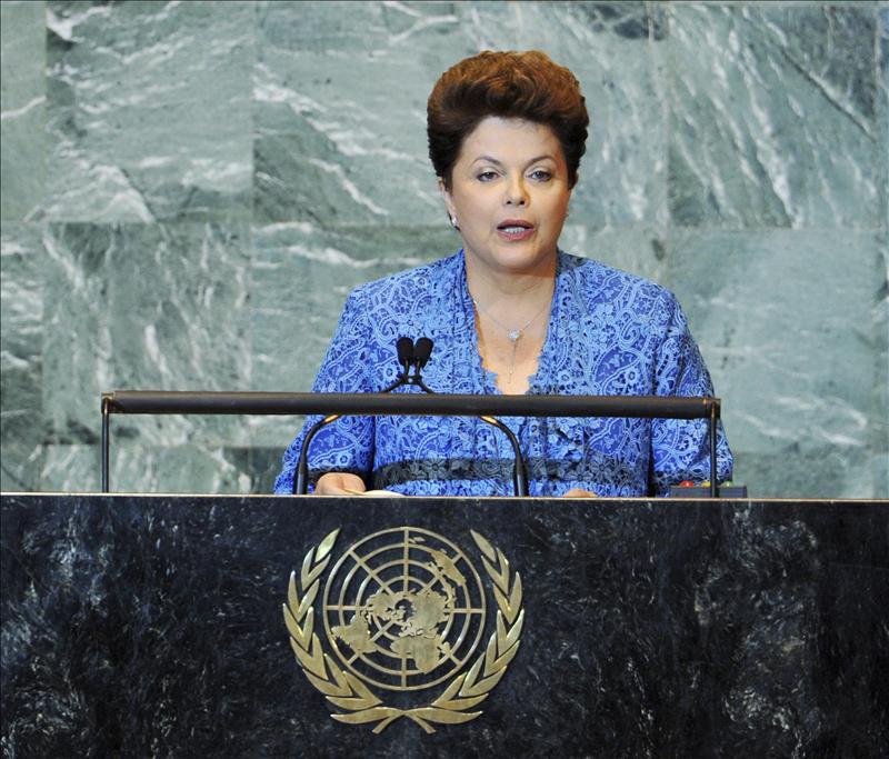 Rousseff reclama mas participación de los países emergentes en la ONU
