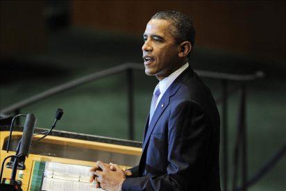 Obama dice que la paz en O. Medio sólo llegará en las negociaciones Israel-palestinos