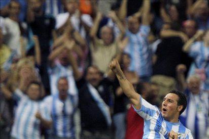 1-0. Cazorla propicia que el Málaga encadene la tercera victoria consecutiva