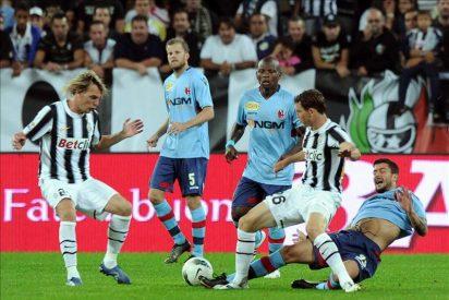 Juventus, Udinese y Génova encabezan la clasificación ante un Milán que no convence