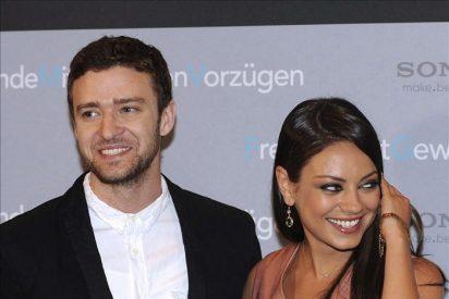 """Justin Timberlake y Mila Kunis, amistad """"Con derecho a roce"""" en la cartelera"""