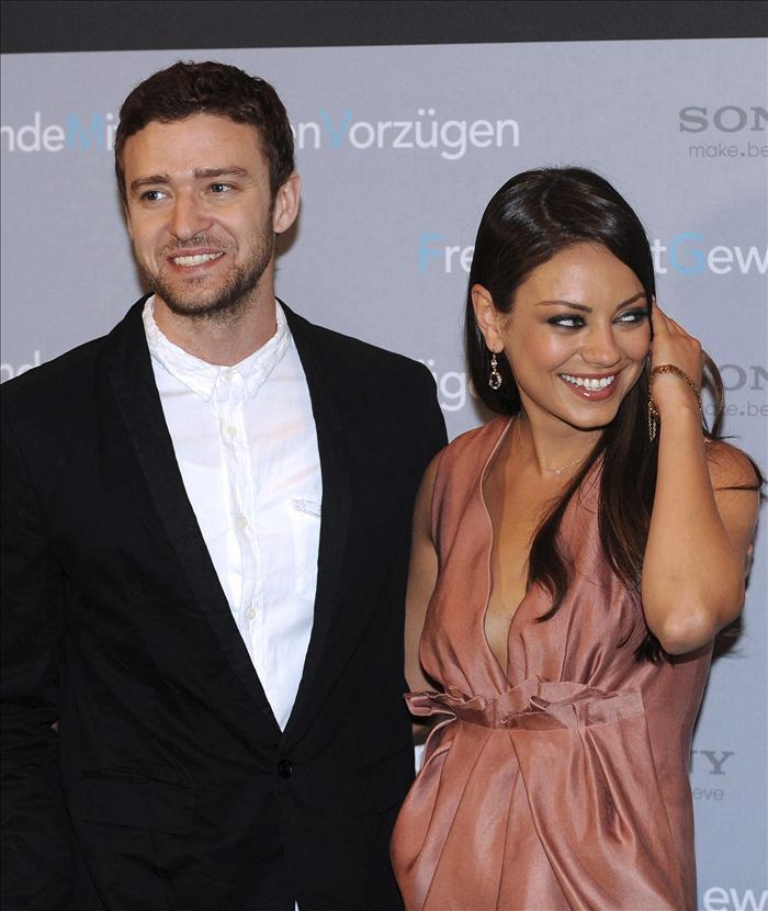 Justin Timberlake y Mila Kunis son amigos con derecho