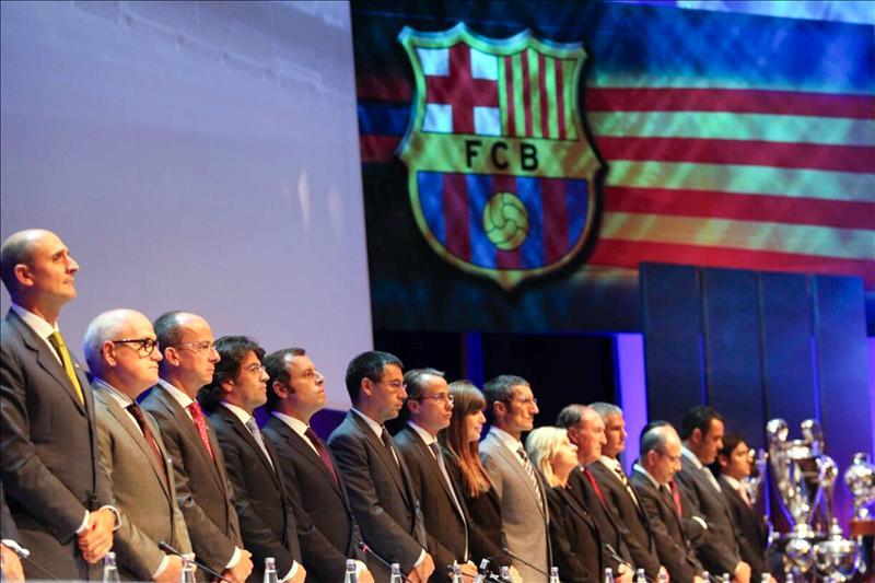 """Rosell dice que el Barcelona no está instalado en """"la cultura del pelotazo"""""""