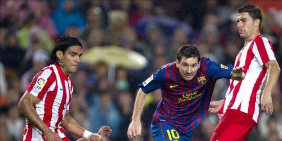 """5-0. El Barça se da otro festín en el Camp Nou con un """"hat trick"""" de Messi"""