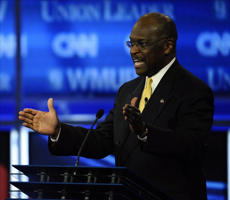 """El republicano Herman Cain gana un """"voto de ensayo"""" en una consulta informal en Florida"""