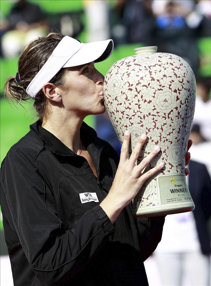 María José Martínez conquistó el quinto título de su carrera