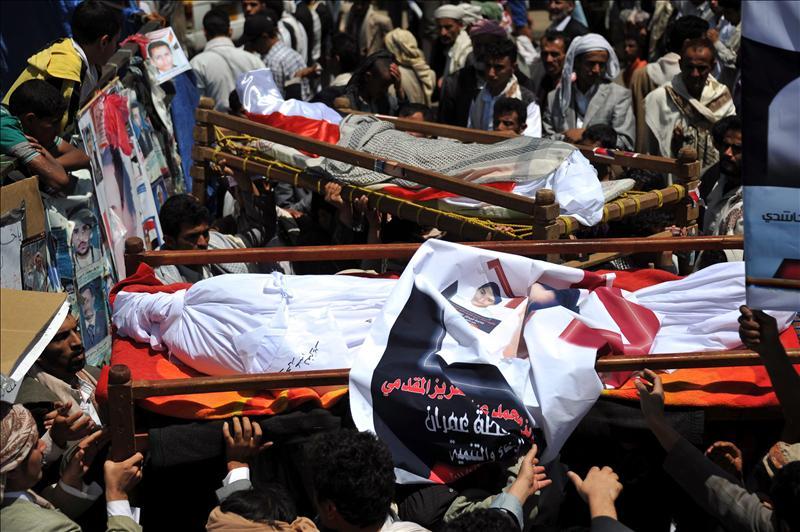 Al menos dos muertos cerca de Saná por los bombardeos gubernamentales